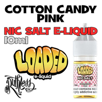 Cotton Candy Pink - Loaded NicSalt e-liquid - 10ml