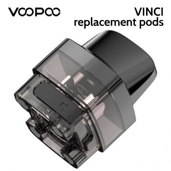 2 x VOOPOO VINCI replacement pods
