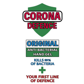 Anti-Bacterial Hand Gel – Corona Defence – 60ml