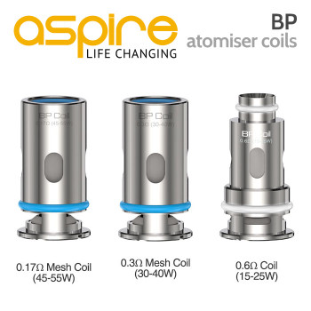 5 pack - Aspire BP Atomisers