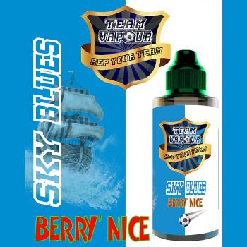 Sky Blues Berry Nice – Team Vapour e-liquid – 70% VG – 100ml
