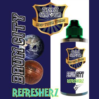 Brum City Refresherz – Team Vapour e-liquid – 70% VG – 100ml