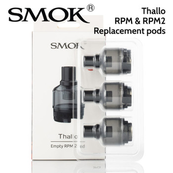 3 pack SMOK Thallo RPM replacement pods