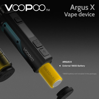 VooPoo Argus X vape device (replaceable battery)