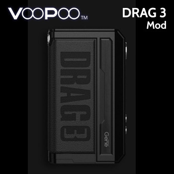 VooPoo DRAG 3 MOD 177w (replaceable batteries)