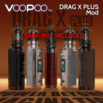 VooPoo Drag X PLUS Mod (replaceable battery)