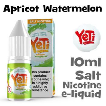 Apricot Watermelon - Yeti Salt Nicotine eliquid - 10ml