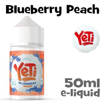Blueberry Peach - Yeti eliquid - 50ml