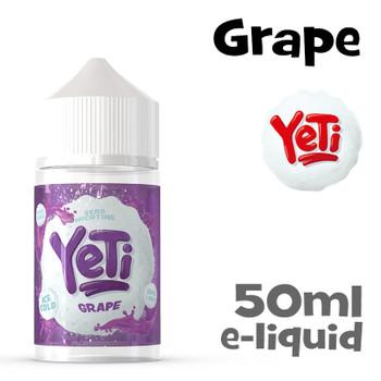 Grape - Yeti eliquid - 50ml