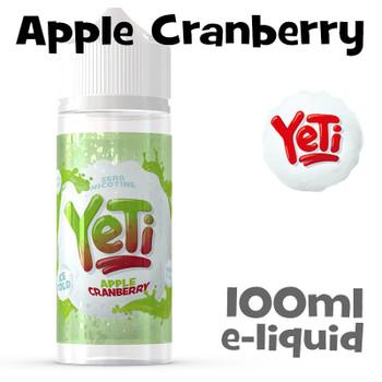 Apple Cranberry - Yeti eliquid - 100ml