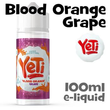 Blood Orange Grape - Yeti eliquid - 100ml