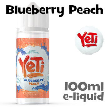 Blueberry Peach - Yeti eliquid - 100ml