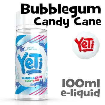 Bubblegum Candy Cane - Yeti eliquid - 100ml