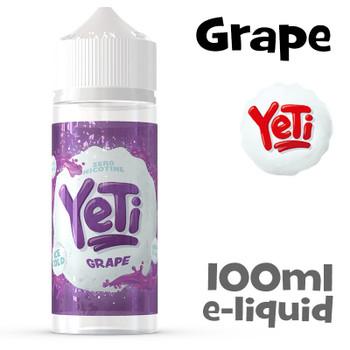 Grape - Yeti eliquid - 100ml