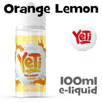 Orange Lemon - Yeti eliquid - 100ml