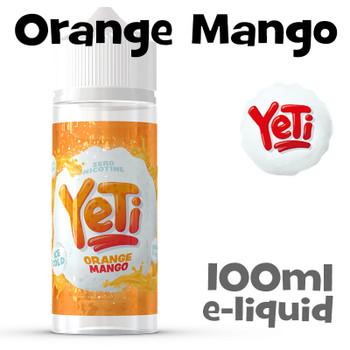 Orange Mango - Yeti eliquid - 100ml