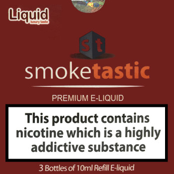 30ml Smoketastic E-Liquid - Lemon Mint