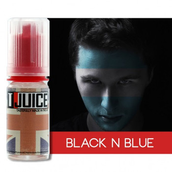T-Juice Premium E-Liquid - Black and Blue