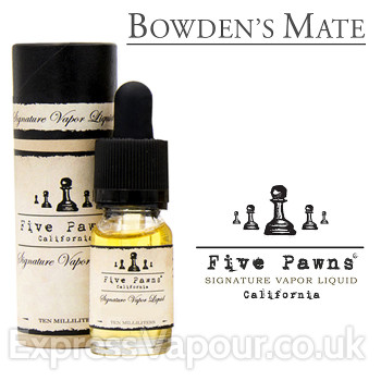 Bowden's Mate - Five Pawns premium e-liquid - 10ml