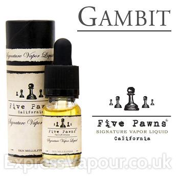 Gambit - Five Pawns premium e-liquid - 10ml