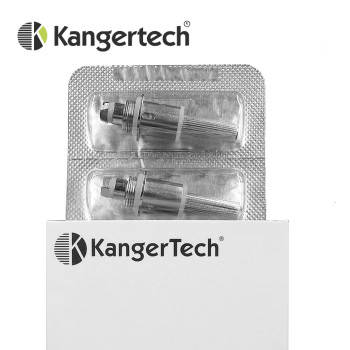 5 pack - Upgraded Kanger Dual Coil Atomisers for Aerotank-Mega-Mini-Turbo-EMOW-EVOD2