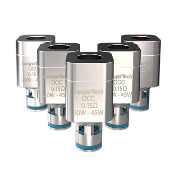 5 Pack - Kanger Subtank OCC Ni200 0.5ohm Temperature Sensing Coils/Atomisers