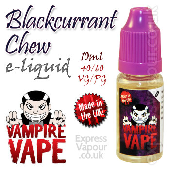 Blackcurrant Chew - Vampire Vape 40% VG e-Liquid - 10ml
