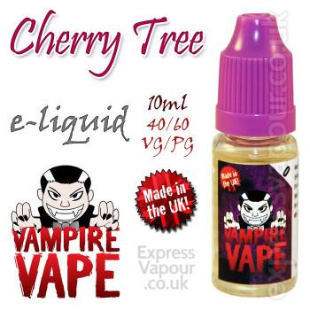 Cherry Tree - Vampire Vape 40% VG e-Liquid - 10ml
