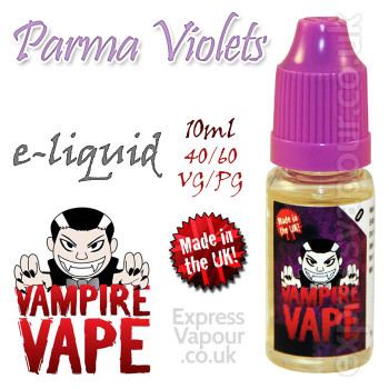 Parma Violets - Vampire Vape 40% VG e-Liquid - 10ml