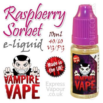 Raspberry Sorbet - Vampire Vape 40% VG e-Liquid - 10ml
