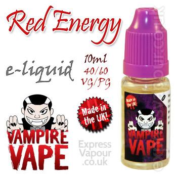 Energy - Vampire Vape 40% VG e-Liquid - 10ml