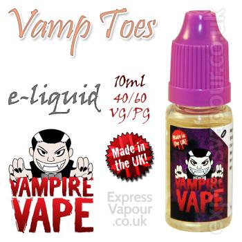 Vamp Toes - Vampire Vape 40% VG e-Liquid - 10ml