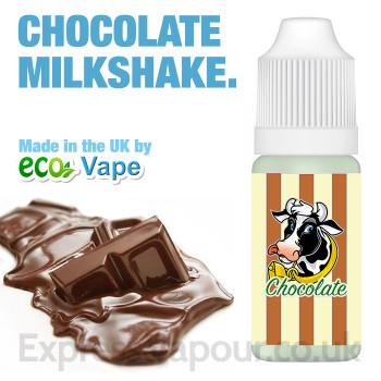 Chocolate Milkshake - by ECO VAPE e-liquid - 70% VG - 30ml