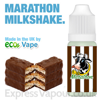 Marathon Milkshake - by ECO VAPE e-liquid - 70% VG - 30ml