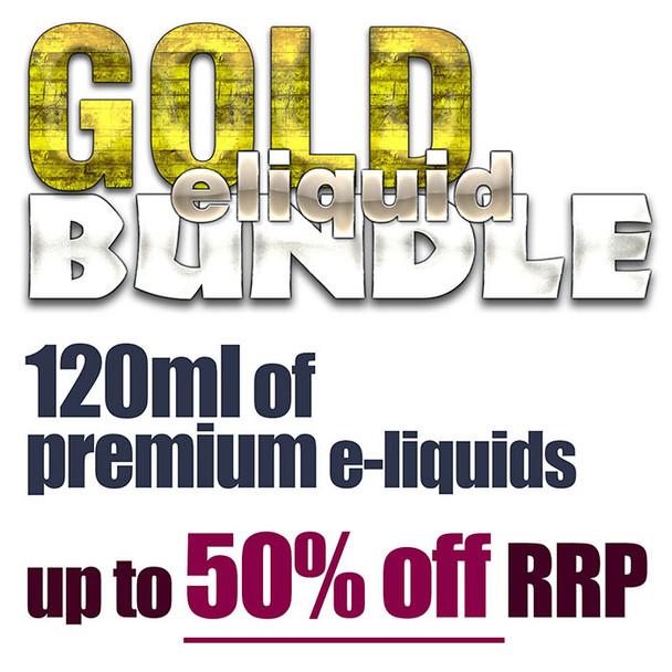 GOLD eliquid bundle - 120ml
