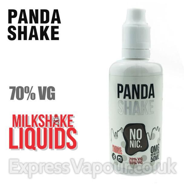 PANDA SHAKE by Milkshake e-liquid - 70% VG - 50ml