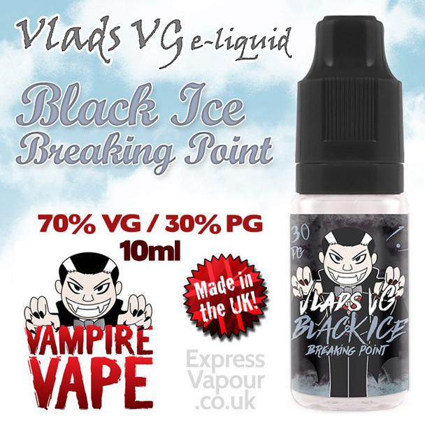 Black Ice Breaking Point - VLADS VG - 70% VG - 10ml