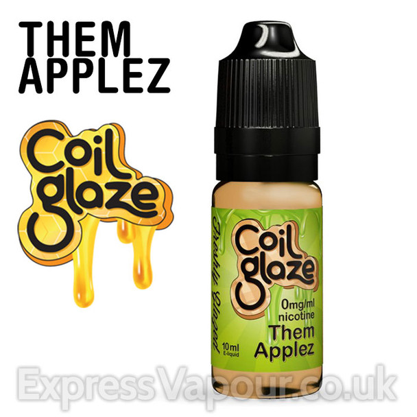 THEM APPLEZ e-liquid by Coil Glaze - 80% VG - 30ml