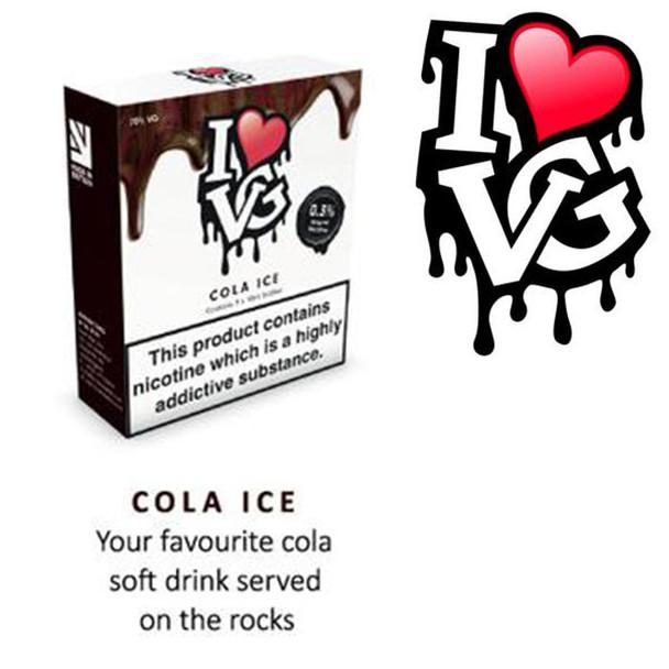 Cola Ice by I LOVE VG e-liquid - 70% VG - 30ml