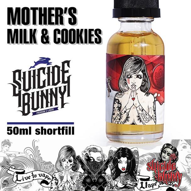 Mother's Milk and Cookies - Suicide Bunny e-liquids - 70% VG - 50ml
