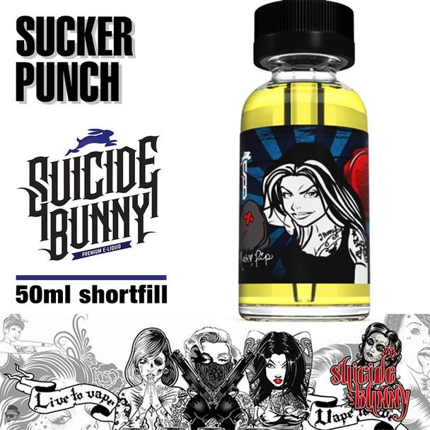 Sucker Punch - Suicide Bunny e-liquids - 70% VG - 50ml
