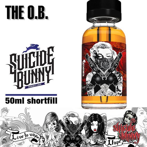 The O.B. by Suicide Bunny e-liquids - 70% VG - 50ml