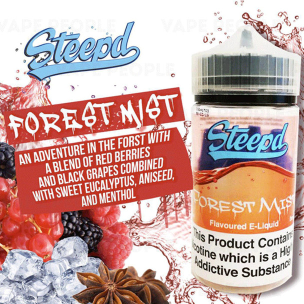 Forest Mist - Steepd e-liquid 80% VG 40ml