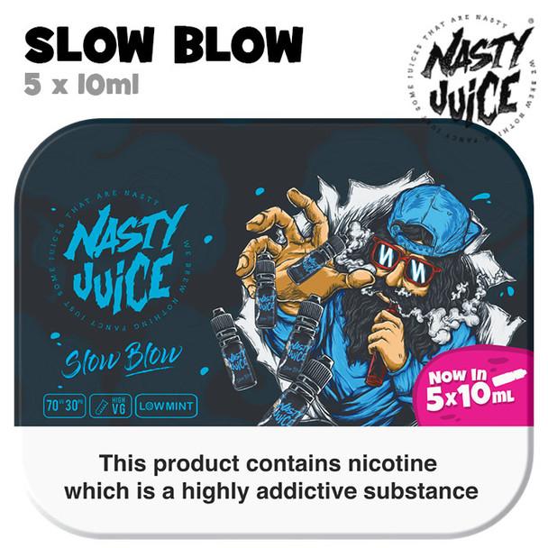 Slow Blow - Nasty Juice e-liquid - 70% VG - 50ml