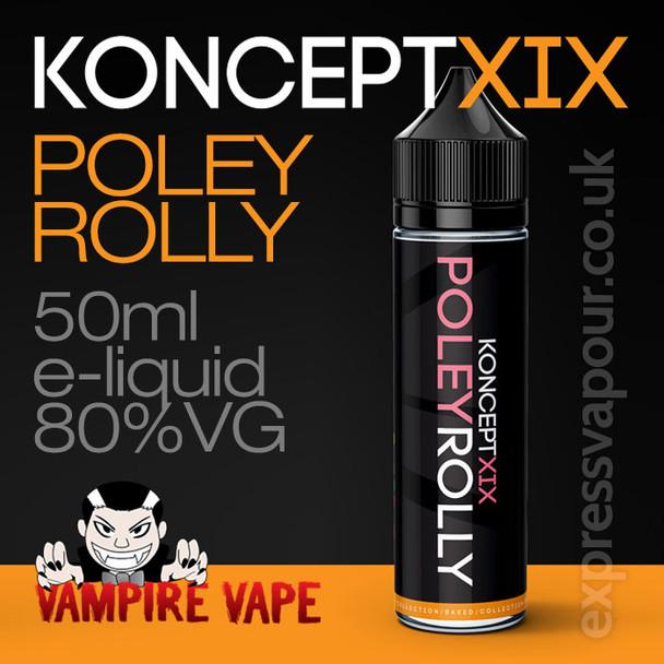 Poley Rolly - Koncept XIX e-liquid - 80% VG - 50ml