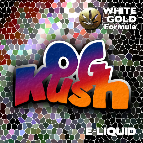 OG Kush - White Gold Formula e-liquid 60% VG - 10ml