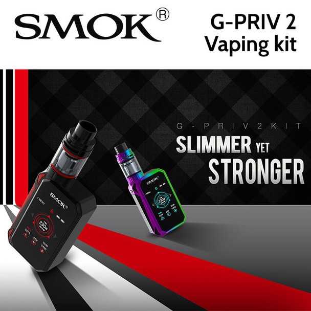 SMOK G-Priv 2 Vaping kit - 230w G-PRIV 2 Mod with TFV8 X-Baby 2ml tank
