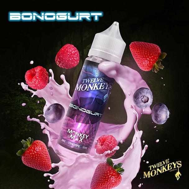 BONOGURT - Twelve Monkeys e-liquid - 80% VG - 50ml