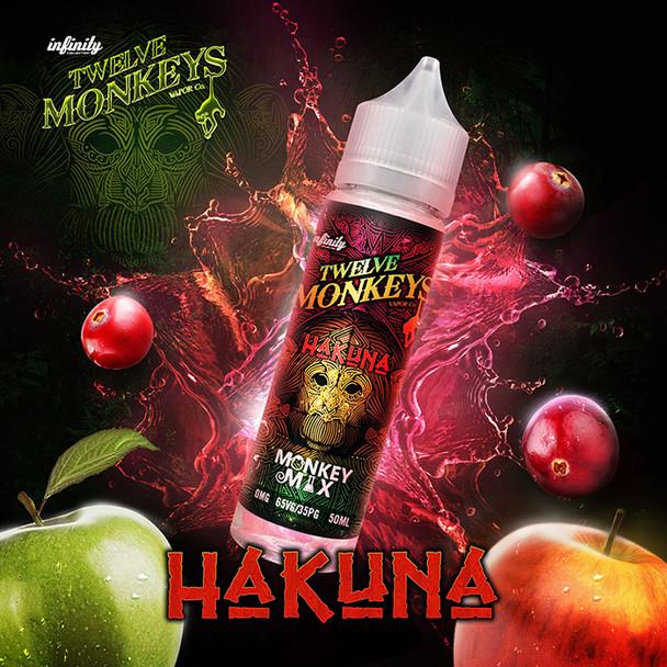 HAKUNA - Twelve Monkeys e-liquid - 70% VG - 50ml