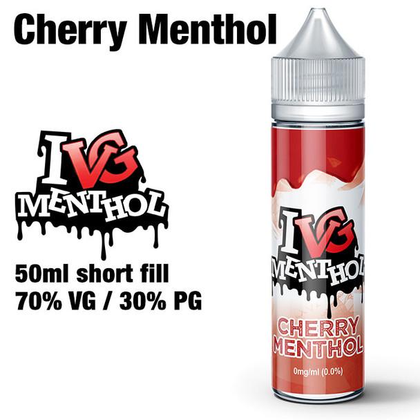 Cherry Menthol by I VG e-liquids - 50ml